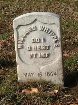 Pvt Willard Whipple