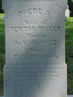 Phebe Ann <I>Ralph</I> Miller