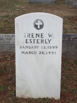 Irene <I>Wachter</I> Esterly