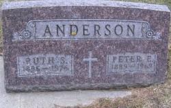 Ruth Sophia <I>Christianson</I> Anderson