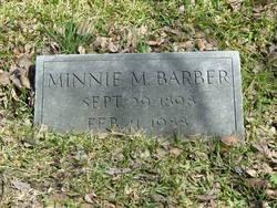 Minnie M <I>Sprinkle</I> Barber
