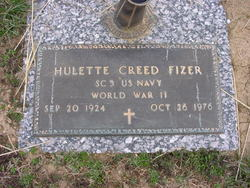 Hulette Creed Fizer