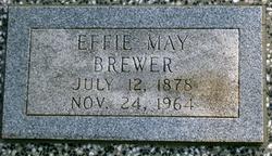 Effie May <I>Watkins</I> Brewer