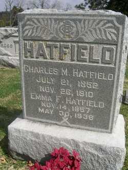 """Emily Frances """"Emma"""" <I>Orr</I> Hatfield"""