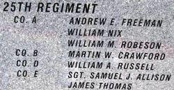 Sgt Samuel J. Allison
