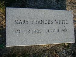 Mary Frances <I>Schneck</I> White