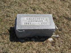 Charlotte C <I>McGinnis</I> Coomler