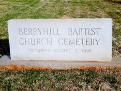 Berryhill Baptist Church Cemetery