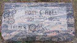 Adin Lewis Abel