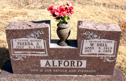 """Willard Dell """"DELL"""" Alford"""
