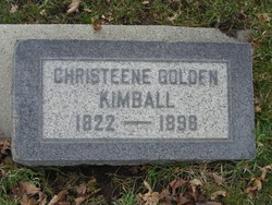 Christeene <I>Golden</I> Kimball