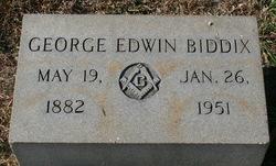 George Edwin Biddix