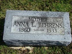 Anna Louisa Henrietta Willhemne <I>Hase</I> Behrens