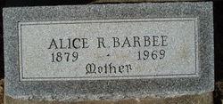 Alice R Barbee