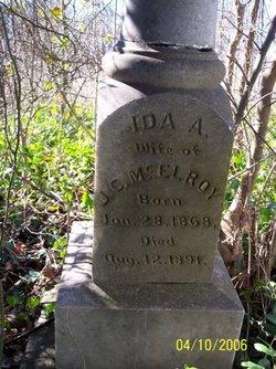 Ida A <I>Allen</I> McElroy