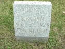 Martha Jane <I>Hormell</I> Brown