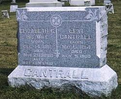 Elizabeth Griffith <I>Robb</I> Cantrall