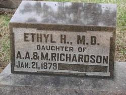 Dr Ethel H. Richardson