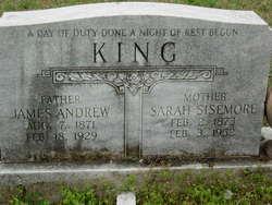 Sarah Frances <I>Sisemore</I> King