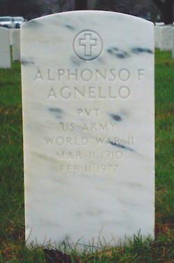 Alphonso F Agnello