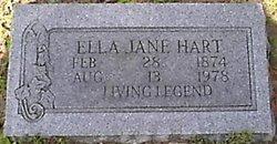 Ella Jane <I>Montgomery</I> Hart