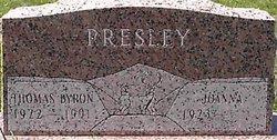 Thomas Byron Presley