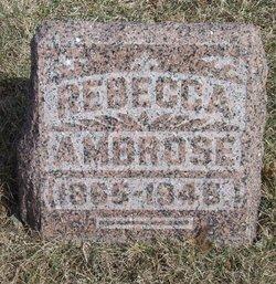 Rebecca <I>Bishop</I> Ambrose