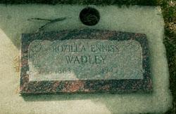 Rozilla Jane <I>Enniss</I> Wadley