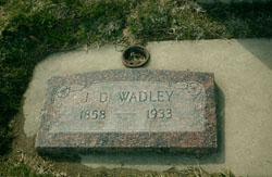 Joseph Daniel Wadley