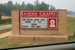 Lloyds Chapel Baptist Church Cemetery