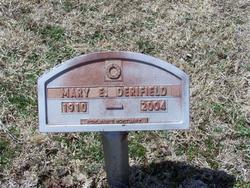 Mary Elizabeth <I>Adams</I> Derifield