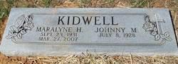 """Lois Maralyne """"Maralyne"""" <I>Hurt</I> Kidwell"""