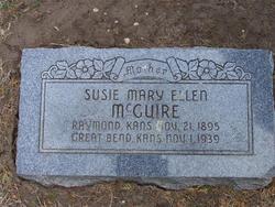 Susie Mary Ellen <I>Adams</I> McGuire