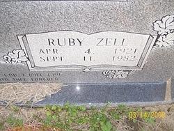 Ruby Zell <I>Phillips</I> Bolen