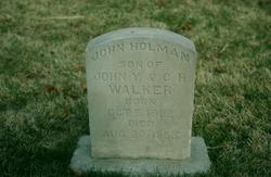 John Holman Walker