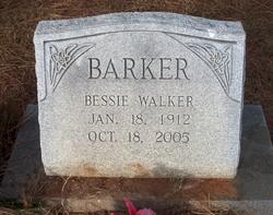 Bessie <I>Walker</I> Barker