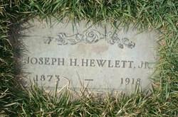 Joseph H. Hewlett, Jr