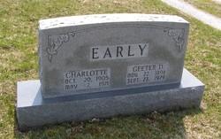 Charlotte <I>Binney</I> Early