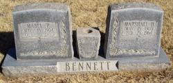 "Marshall Hillard ""Sunk"" Bennett"