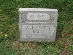 Ruth <I>Beatty</I> Ross