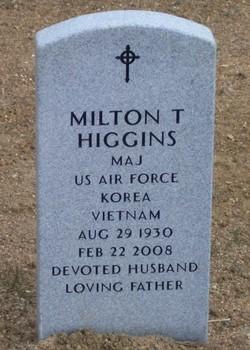 Maj Milton Higgins