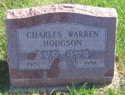 "Charles Warren ""Warren"" Hodgson"