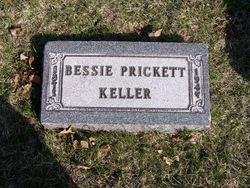 Bessie <I>Prickett</I> Keller