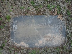 Marion L. McDonald