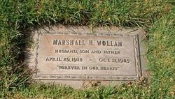 Marshall H Wollam
