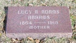 Lucy Ann <I>Adams</I> Abrams