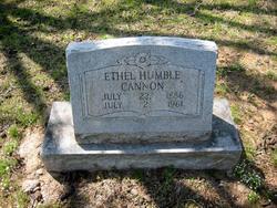 Ethel <I>Hannon</I> Cannon