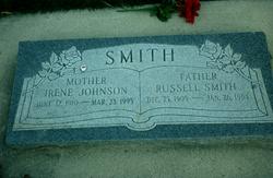 Irene <I>Johnson</I> Smith