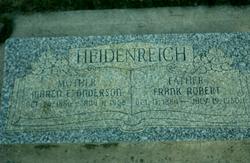 Maren Eliza <I>Anderson</I> Heidenreich