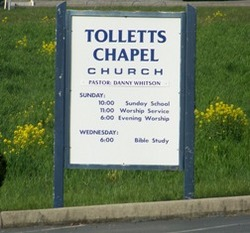 Tolletts Chapel Cemetery